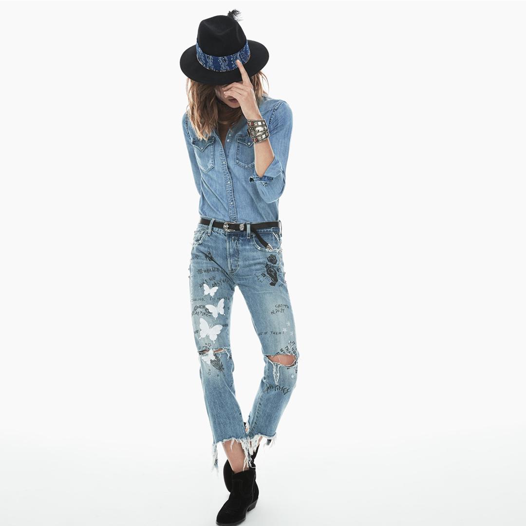 ריפליי חולצת גינס 499 מכנס 999 שח צילום יחצ חול