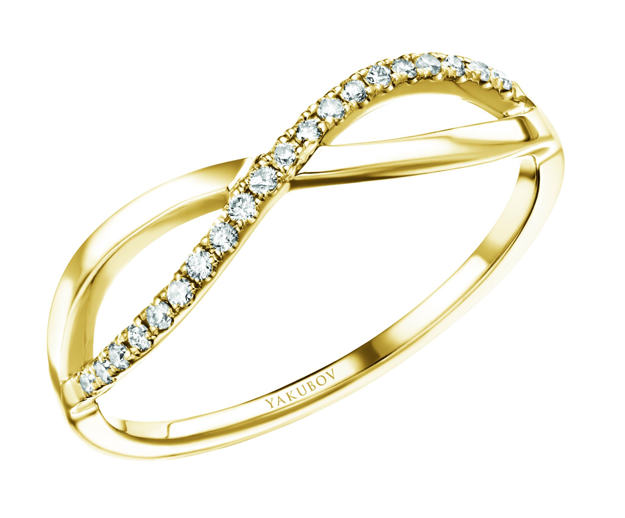 טבעת אינפיניטי gold